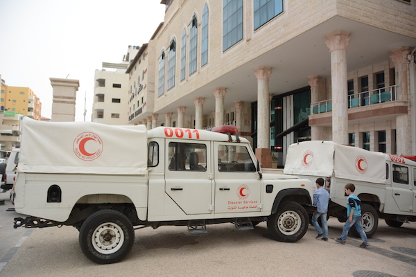 Risk för allvarlig coronaepidemi i Gaza