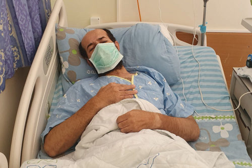 Maher al-Akhras måste friges!